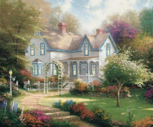 thomas kinkade home is where the heart is ii