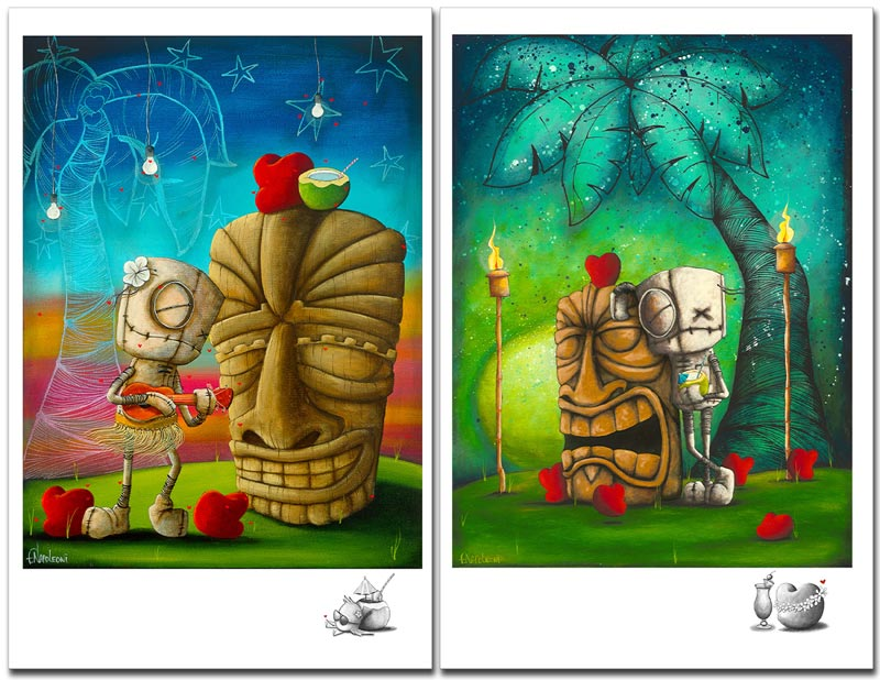 fabio napoleoni hawaiian set