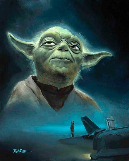 rob kaz seeking yoda