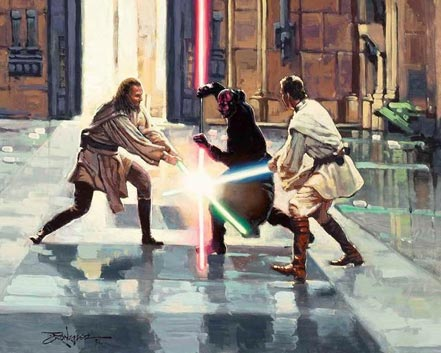 rodel gonzlaez lightsaver duel on naboo