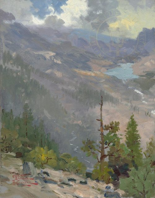 thomas kinkade high country vista