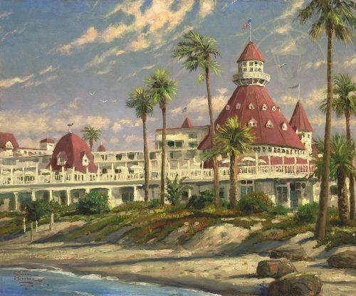 thomas kinkade hotel del coronado