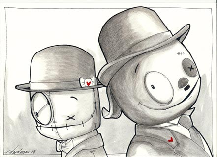 fabio napoleoni laurel and hardy