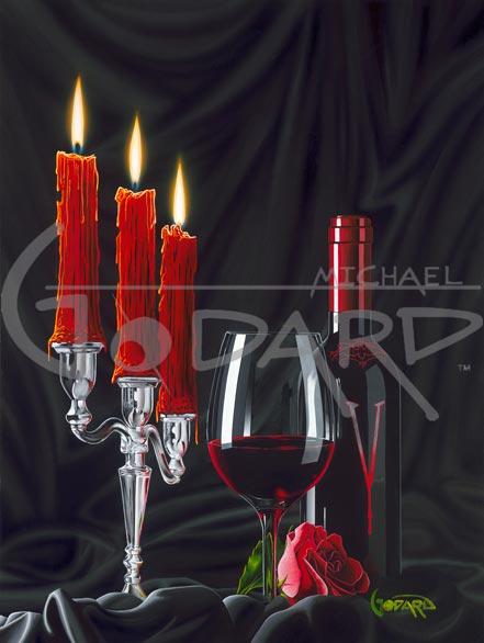 michael godard vampire wine