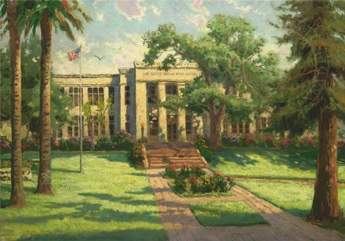 thomas kinkade los gatos high school