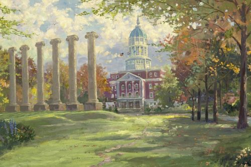 thomas kinkade majesty of mizzou