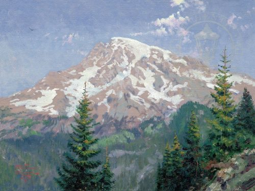 thomas kinkade mount rainier