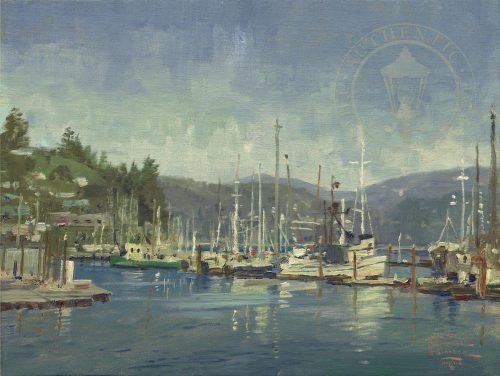 thomas kinkade newport harbor