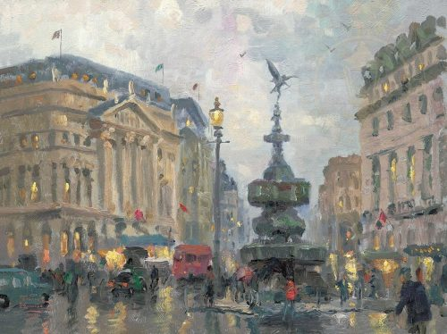 thomas kinkade piccadilly circus london