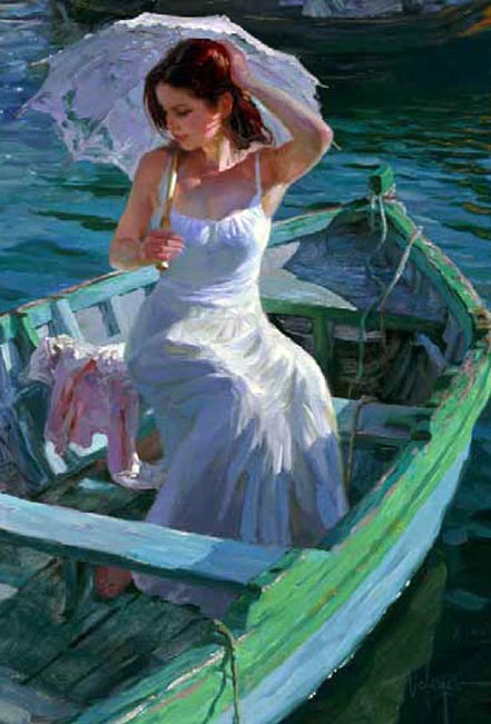 vladimir volegov lakeside reflections