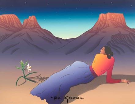 gorman desert lily