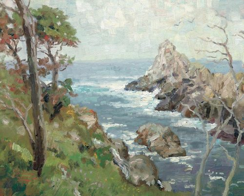 thomas kinkade point lobos carmel