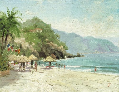 thomas kikade puerto vallarta beach