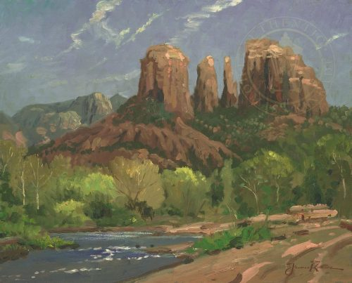 thomas kinkade sedona cliffs