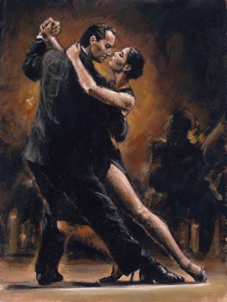 fabian perez study for tango ii