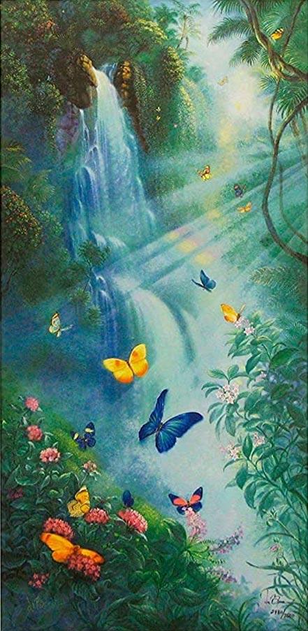 tom dubois butterflies in the mist
