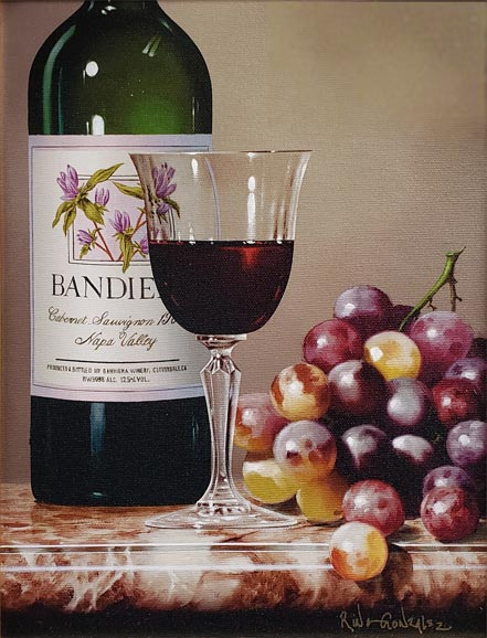 rino gonzalez grapes and cabernet