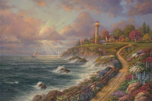 thomas kinkade returning home