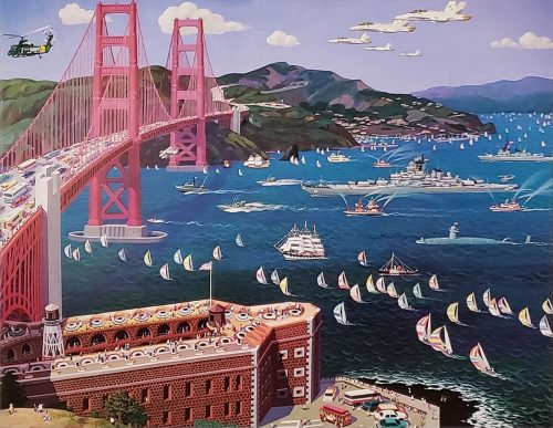 alexander chen golden gate bridge
