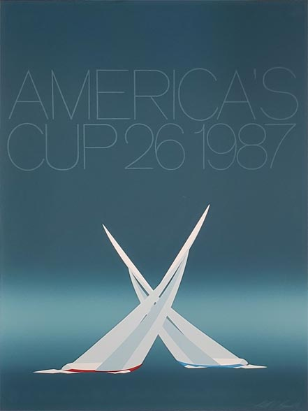 keith reynolds america's cup 26, 1987