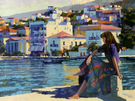 howard behrens grecian harbor