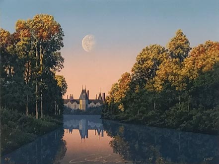 jim buckels chateau reflection