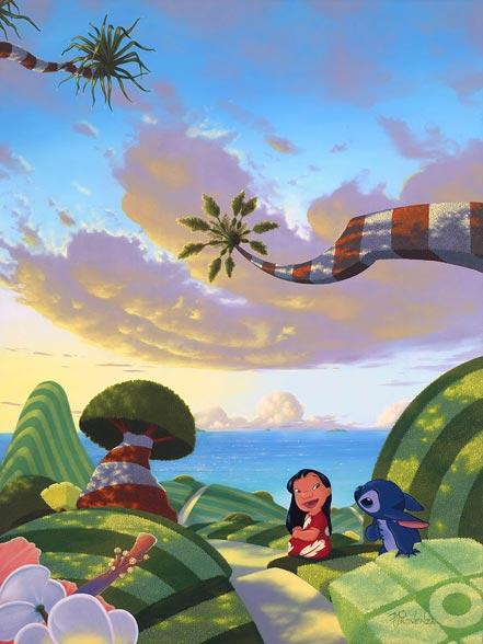 disney a tropical idea