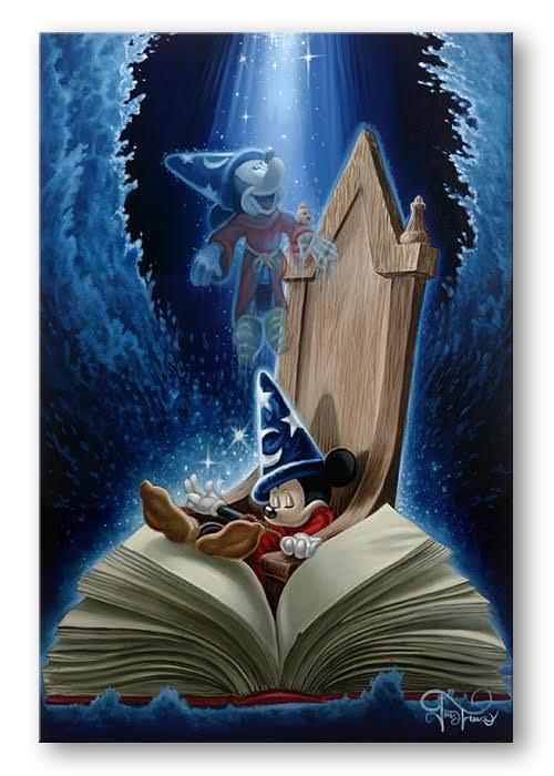 disney dreaming of sorcery