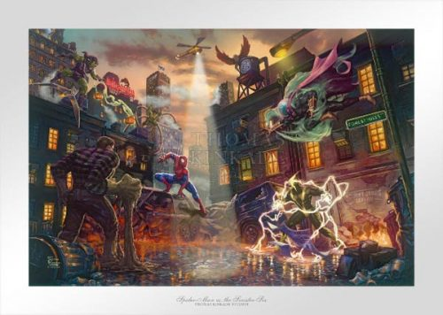 kinkade spider-man vs. the sinister six