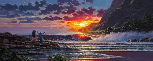 rodel gonzalez lilo and stitch share a sunset