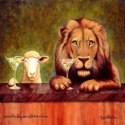 will bullas peaceable kingdom with two olives