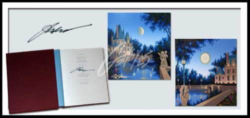 Metaphysical Landscapes Deluxe Version Size: 10 x 10 1/2 each piece Book w/ 2 pieces