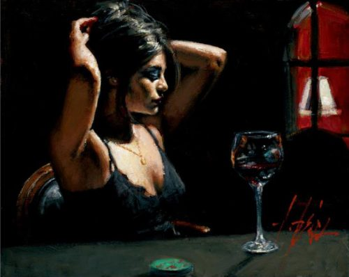Dark Room II by Fabian Perez