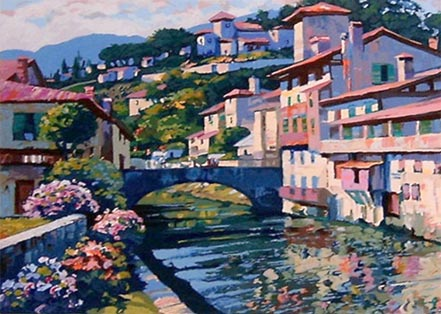 howard behrens morning in st jean