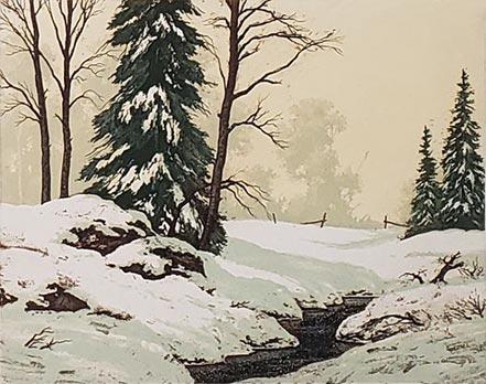 william palluth winter solitude