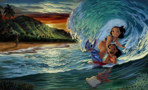 disney morning surf