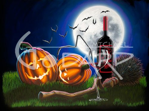 michael godard drunken pumpkins