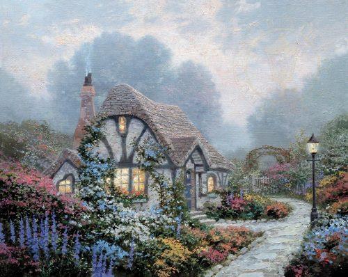 thomas kinkade chandler's cottage