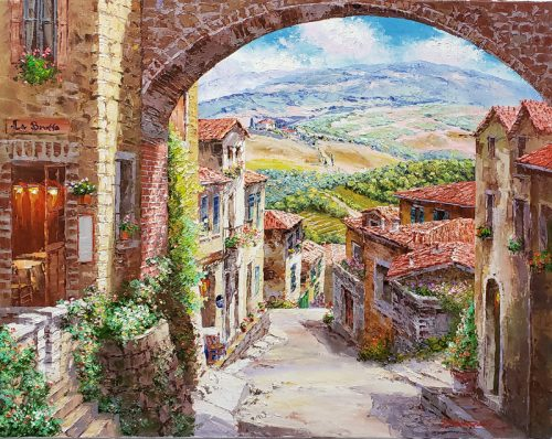 archway-tuscany-original-painting-by-sam-park