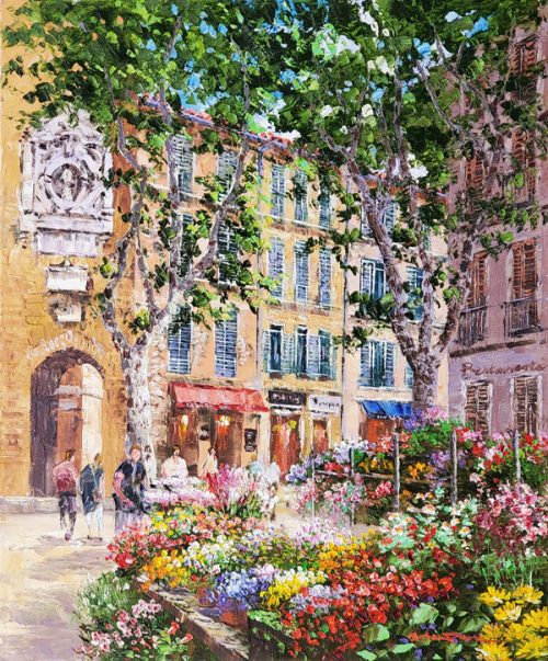 aix-en-provence-original-painting-by-sam-park
