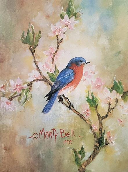 marty bell the bluebird
