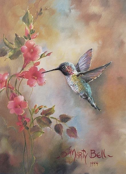 marty bell the hummingbird