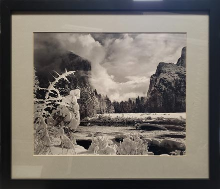 ansel adams gates of the valley