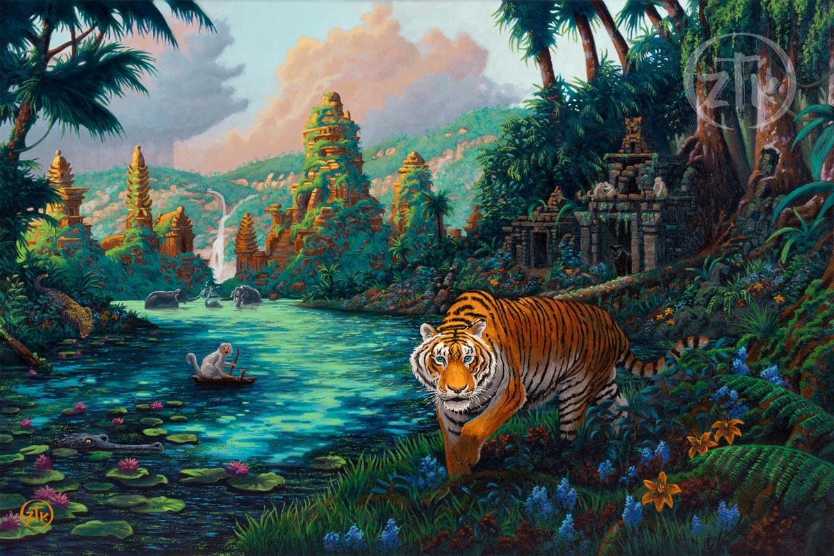 zac kinkade tiger jungle