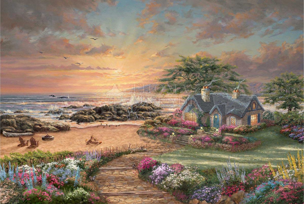 thomas kinkade seaside cottage