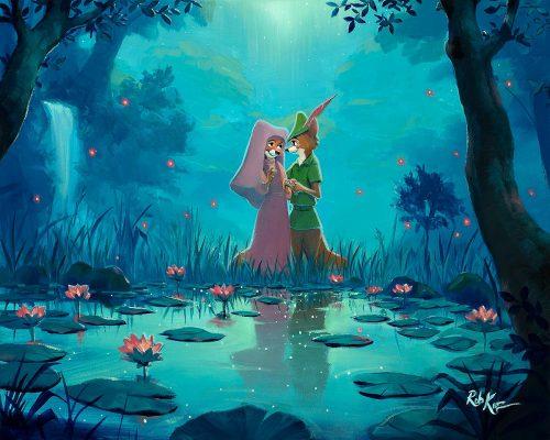 rob kaz moonlight proposal