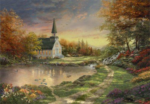 thomas kinkade chapel of reflection